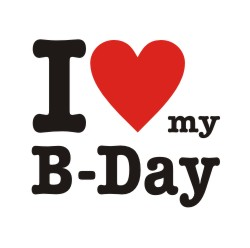 I Love my B-day